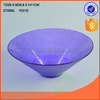 Colorful Glass bowl for food safe round shape glass bowl