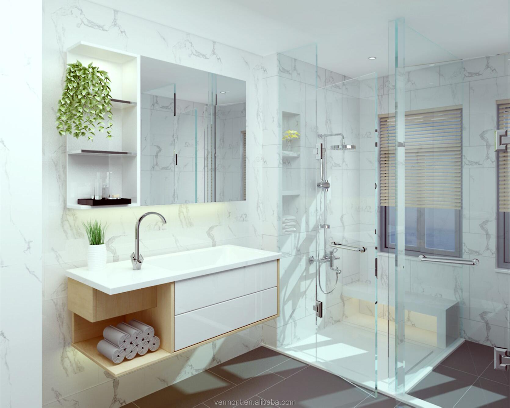 2018 Vermont Hot New Modern Bathroom Vanity Design Wall Mount, View ...