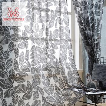 goedkope prijs keqiao china outdoor balkon voile oosterse gordijnen