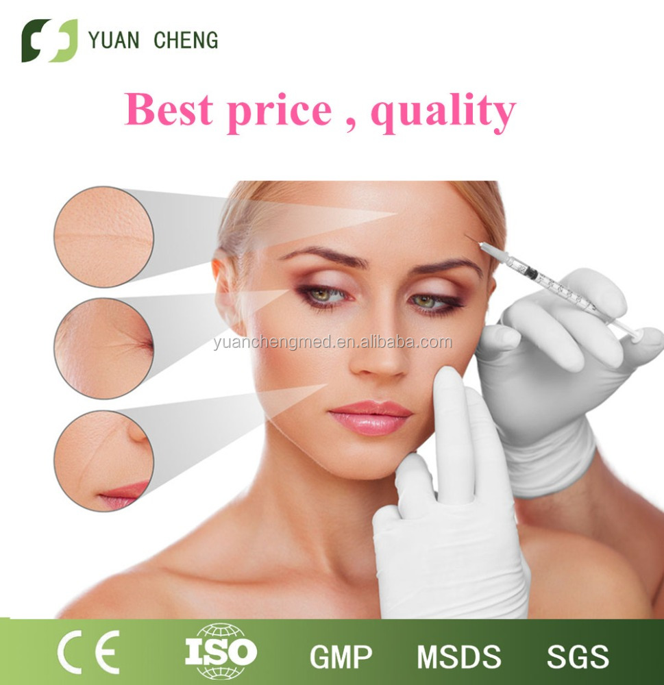 High purity Anti-Wrinkle low Molecular Weight Hyaluronic Acid/humic acid/beauty injection