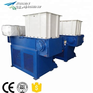 High quality shredder machine for waste tire recycling