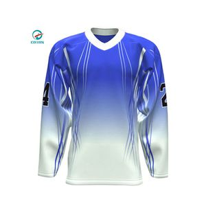 Newest New Design And Styles Mans Team Dry Fit Hockey Uniforms Jersey