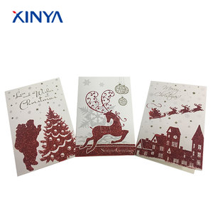 Pretty Christmas Card Design Business Christmas Greeting Cards
