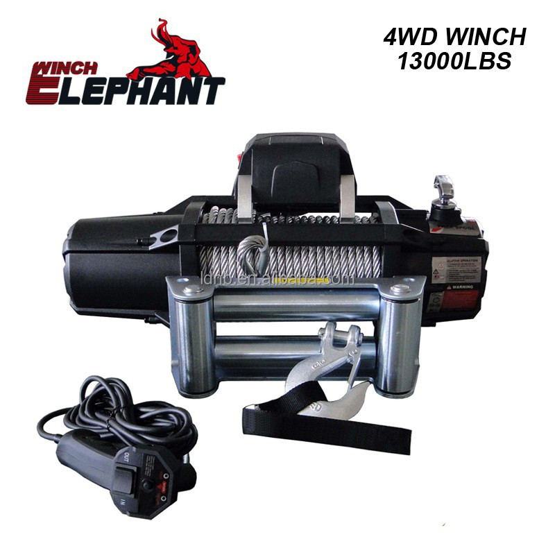 13000lbs 4WD winch/ electric winch/4x4 auto winch/12V/24V
