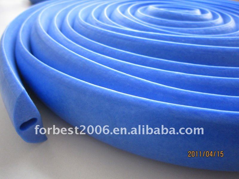 White Extruded silicone seal strip in promotion,Silicone rubber foam strips,Silicone foam seal strip
