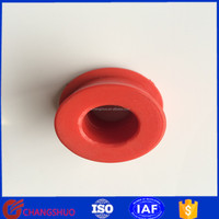 NR rubber bushing red silicone rubber bushing auto rubber bushing for suspension system(211 333 11 14)