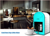 Stainless Steel Housing Anti-drip Coffee Maker Machine with ERP