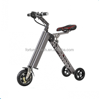 3 Wheel Portable Mobility Folding Electric Bike Scooter Lithium Battery Bicycle Motorcycle Foldable Electric Scooter Motorbike