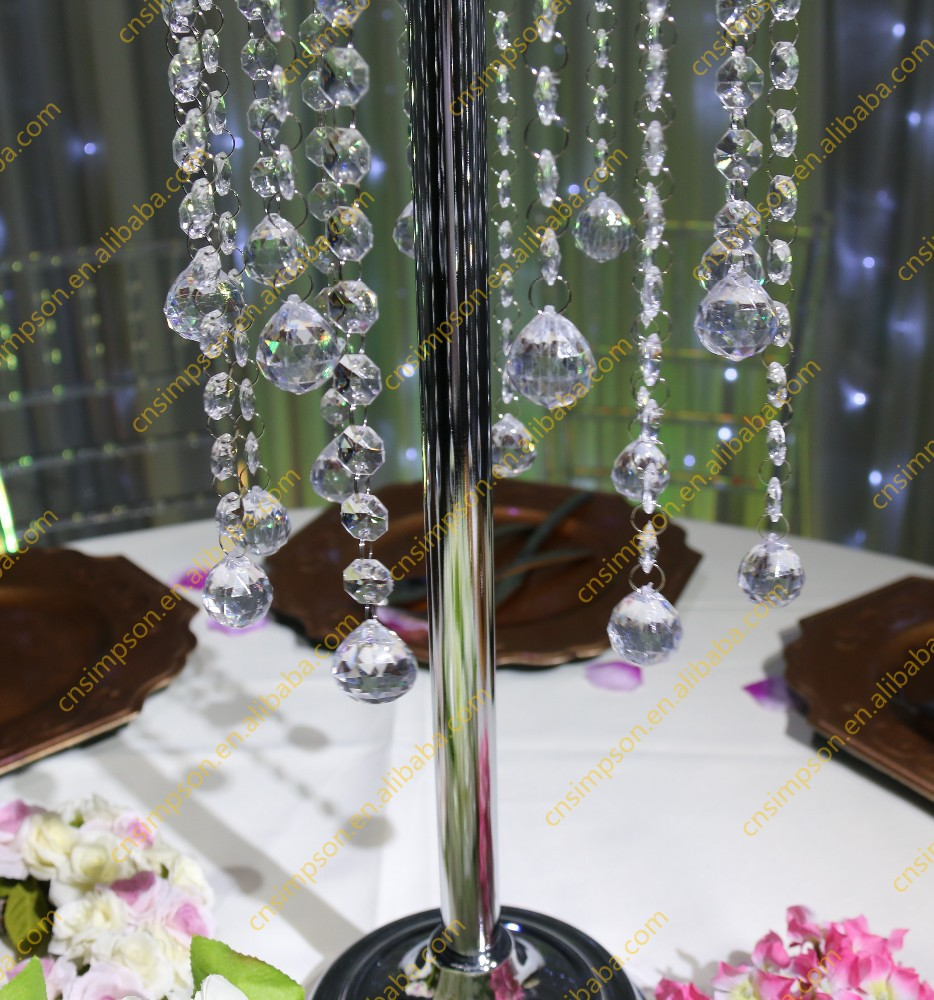 crystal table top chandelier centerpieces for weddings table wholesale buy wedding centerpiece. Black Bedroom Furniture Sets. Home Design Ideas