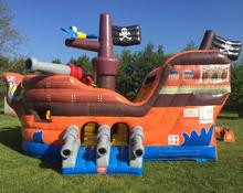 2019 Inflatable Bouncer, Inflatables Bouncer Rumah Inflatable <span class=keywords><strong>Bajak</strong></span> <span class=keywords><strong>Laut</strong></span> untuk Anak-anak
