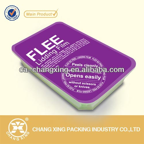 In peelable lidding phim cho nhựa PP/PS/PET/PVC container