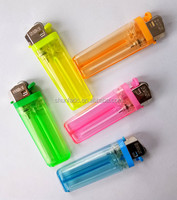 Slim Cheap Plactic disposable flint cigarette lighters