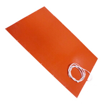 silicone rubber heated pad for warming Liquid dispenser