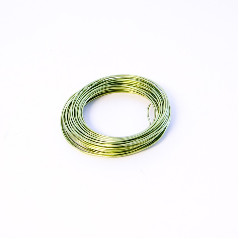 Florist Green Plastic Coated Iron Wire, Florist Green Plastic Coated ...
