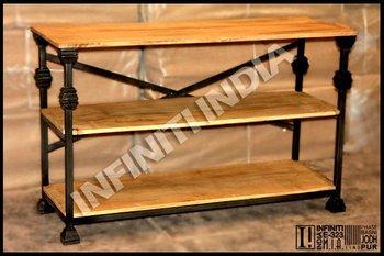 Industrial Vintage Wooden Shoe Rack Industrial Furniture Buy
