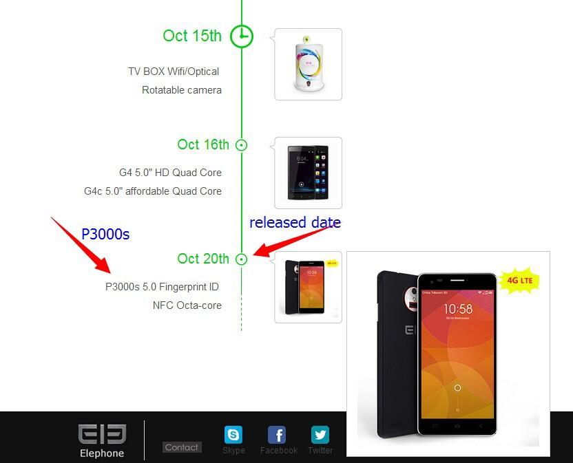 Elephone P3000S: 5″ HD, 4G LTE, 3150 mAh y sensor de huellas