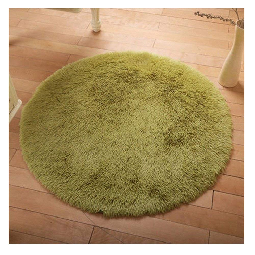 FUT 2-3 Business Days Fast Delivery Multi Colors Carpet Floor Mats Oval Braided Rug Fluffy Rugs Anti-Skid Shaggy Area Rug