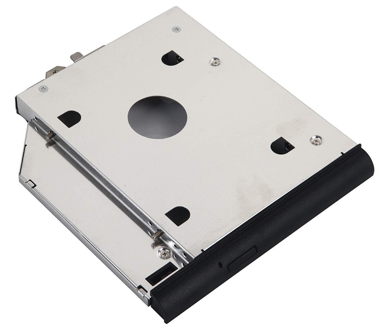 DY-tech 2nd HDD SSD Hard Drive Caddy for HP ProBook 6440b 6445b 6450b 6455b 6550b 6555b with Faceplate bezel + Mounting Bracket