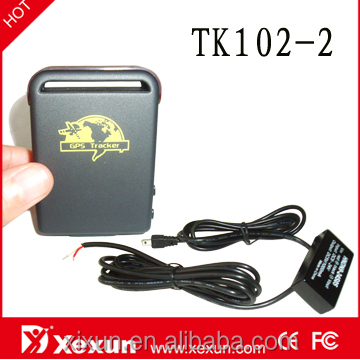 Original XeXun TK102-2 Updated Long Battery Life Smallest GPS GSM Tracker Module with LBS Tracking