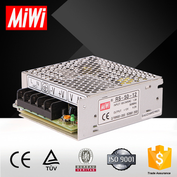 RS-50-12 Single output mini smps power supply 50W 12V