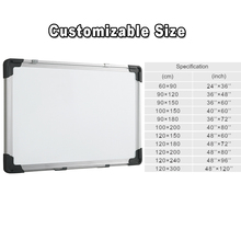 Aanpassen size magneet <span class=keywords><strong>whiteboard</strong></span> met sliver aluminium frame