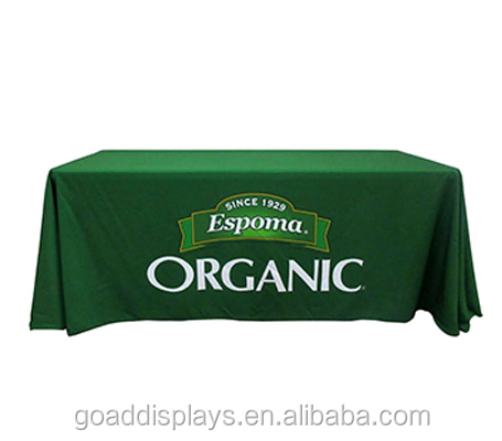 Custom A simple and effective way to display your logo Full Color Printing Table Covers