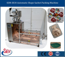 Santa Claus Shape Chocolate Sachet Filling Machine Packaging Machine