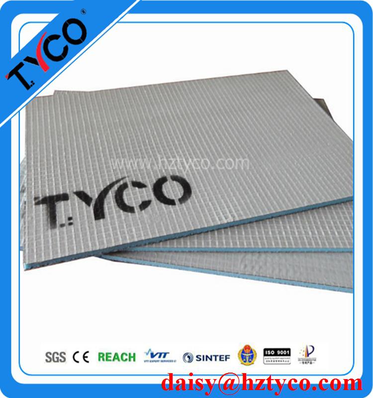 Bajo el ctrico del pie t rmica junta xps paneles de for Ducha termica