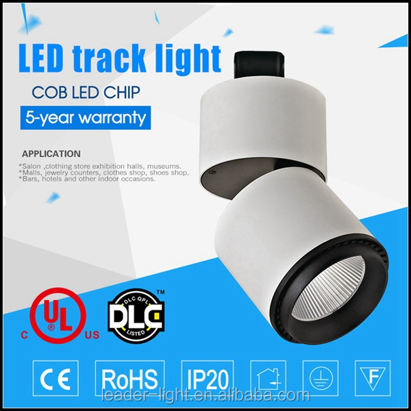 best selling light IP22 led track spot light UL approved rail light