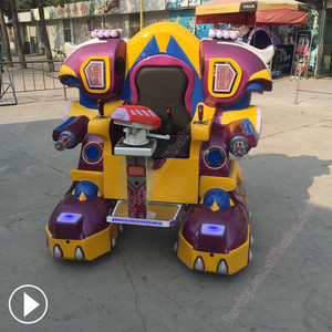 Ride on robot amusement machine electric walking robot amusement equipment outdoor adult children entertainment