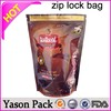 Yason ziplock bags for food storage reusable stand up reusable baby food pouch with ziplock zipper seal freezer bag