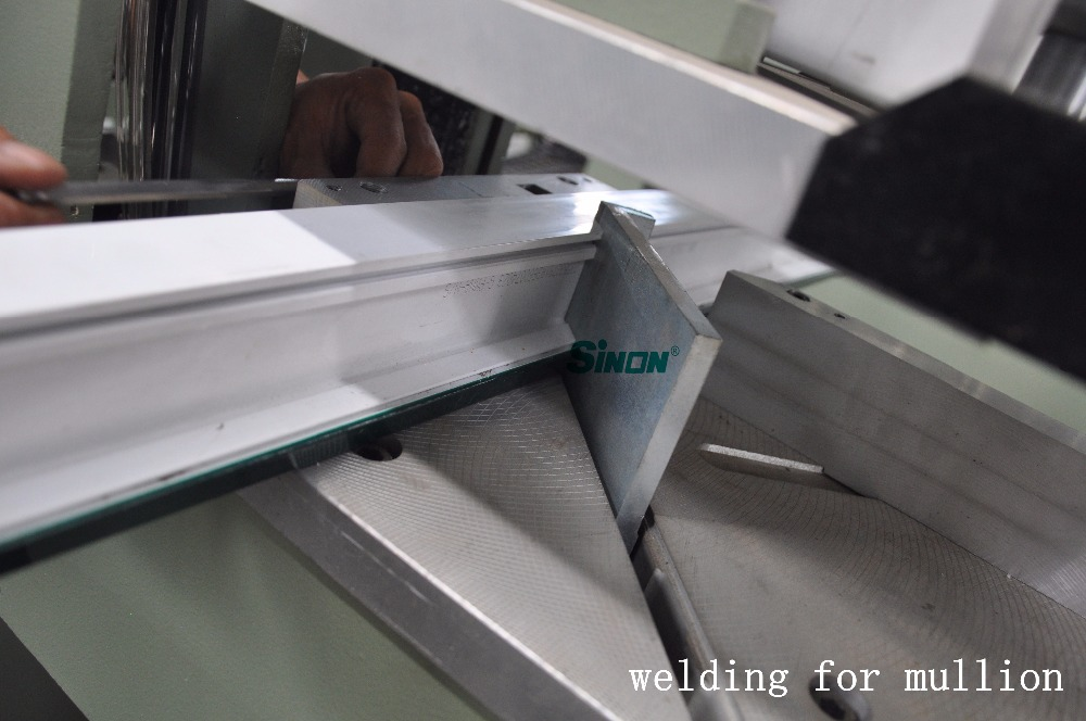 JINAN SINON Double Heads Plastic Window PVC Window Welding Machine