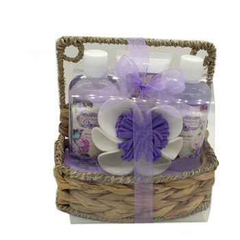 Natural Elegance Bath and Body Works Basket Spa Set