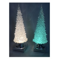 Hot sale acrylic products battery operated tree led christmas decoration