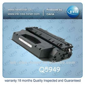 toner import from China for HP Q5949X