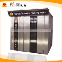 Stainless steel main food rotation oven