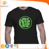 Custom Black T shirt Printing Heat Transfer T shirt