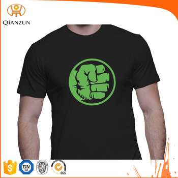 Custom black t shirt printing heat transfer t shirt buy for Customized heat transfers for t shirts