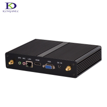 Heavy Promotion Fanless Plam Computer Celeron N2830 Win 7 Intel HD Graphics VGA Small Mini PC Nettop Wifi barebone