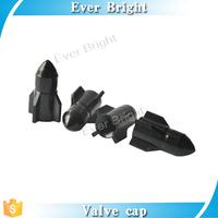 Black Rocket Auto car Valve Caps valve cap