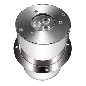 3*3w 12v marine dmx outdoor led recessed underwater light