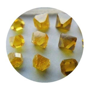Wholesale Price Single Crystal Synthetic Yellow Diamond