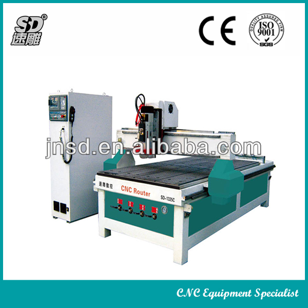 Row type ATC processing center SD-1325C crystal engraving
