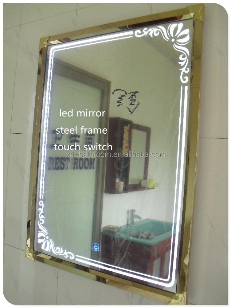 Finden Sie Hohe Qualität Edelstahl Gerahmt Bad Spiegel Hersteller ...