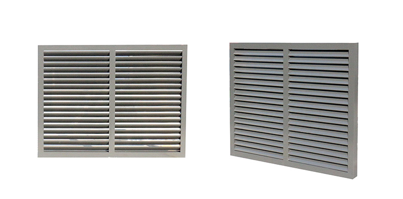 CSA NFRC AS2047 standard modern aluminum frame soundproof louver jalousie louvered window