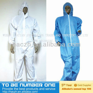 coverall with hood..coverall with two chest patch pockets..summer fire retardant coveralls