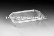 Transparent Food Grade Plastic Container