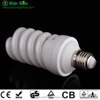 T2 23W E27 4200k cfl lamps Half Full Spiral