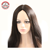 European Hair Silk Top Lace Wig With Baby Hairs