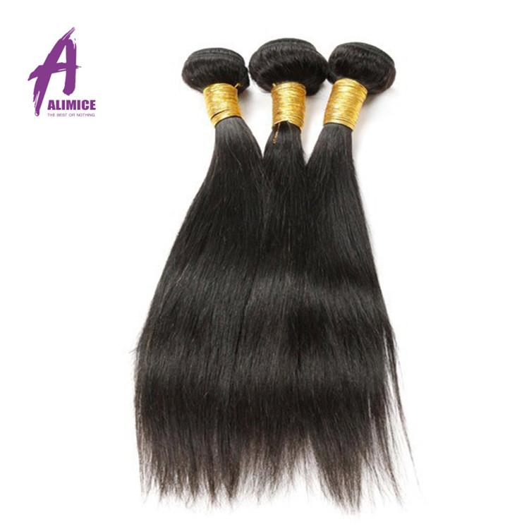 Cuticle Aligned Straight Grade 10A 100 Human Unprocessed Virgin Peruvian Hair In China, Natural black 1b;1#;1b;2#;4# and etc